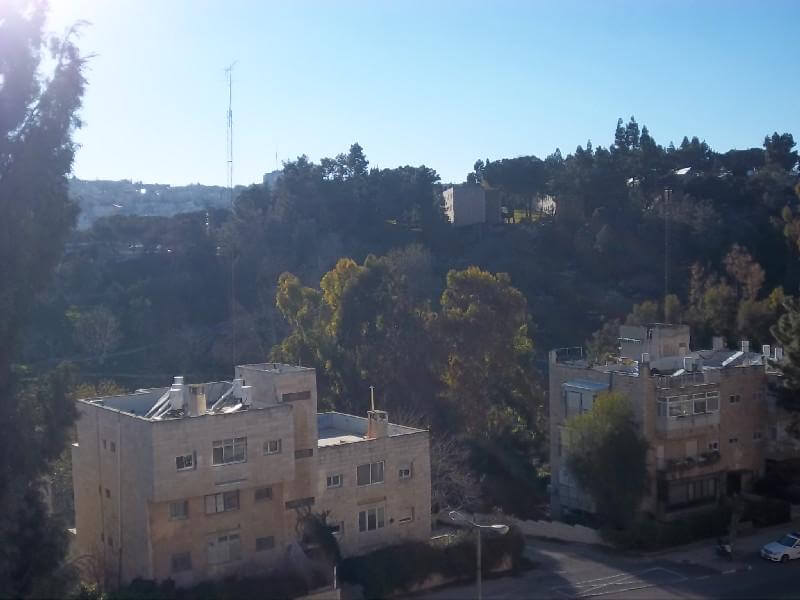 נוף מהמרפסת/ View from balconies